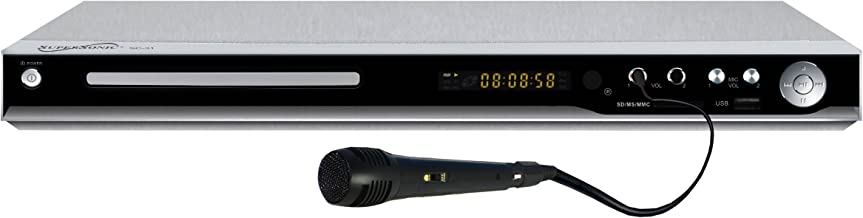 Supersonic SC-31 5.1 Channel DVD Player with HDMI Up Conversion, USB, SD Card Slot and Karaoke