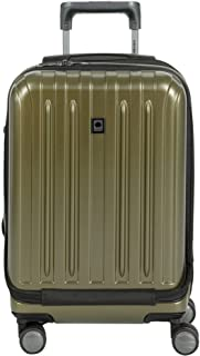 "Delsey Helium Titanium 19"" International Carry-On Expandable Spinner Luggage, Bronze"
