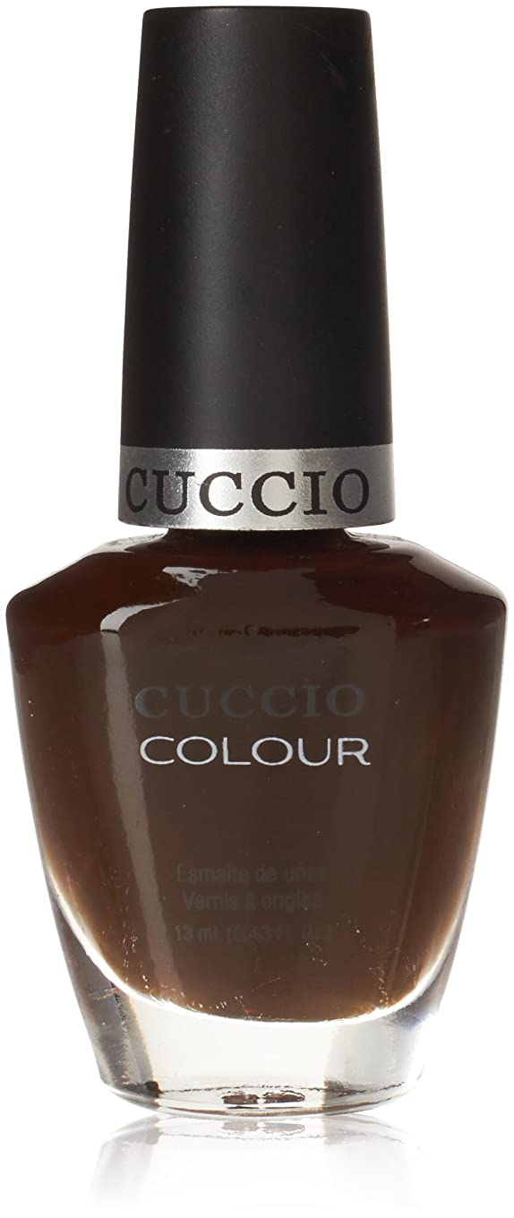 のぞき見回路溶融Cuccio Colour Gloss Lacquer - French Pressed for Time - 0.43oz / 13ml