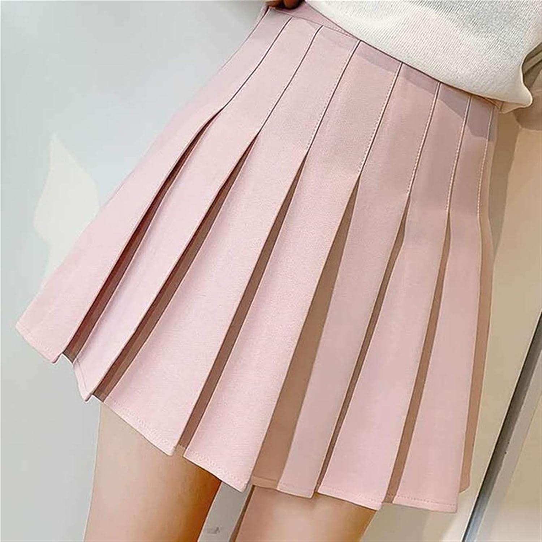 ZXCVB ZHENZEN Portland Mall Women's Plain Mail order cheap Skater Skirt Summer Women Fashion Hi
