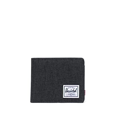 Herschel Supply Co. Roy Coin RFID (Black Crosshatch) Wallet Handbags