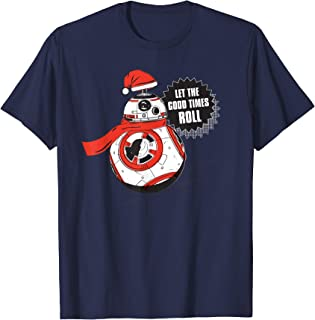BB-8 Let the Good Times Roll Holiday T-Shirt