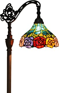 Tiffany Style Floor Lamp Arched Standing 62
