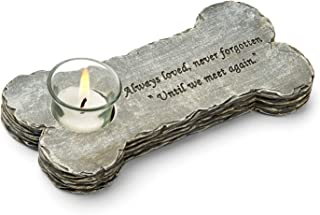 Orchid Valley Dog Loss Memorial Candle. Always Loved, Never Forgotten - Until We Meet Again. Beautifully Packaged Pet Sympathy Gift. Indoor or Outdoor