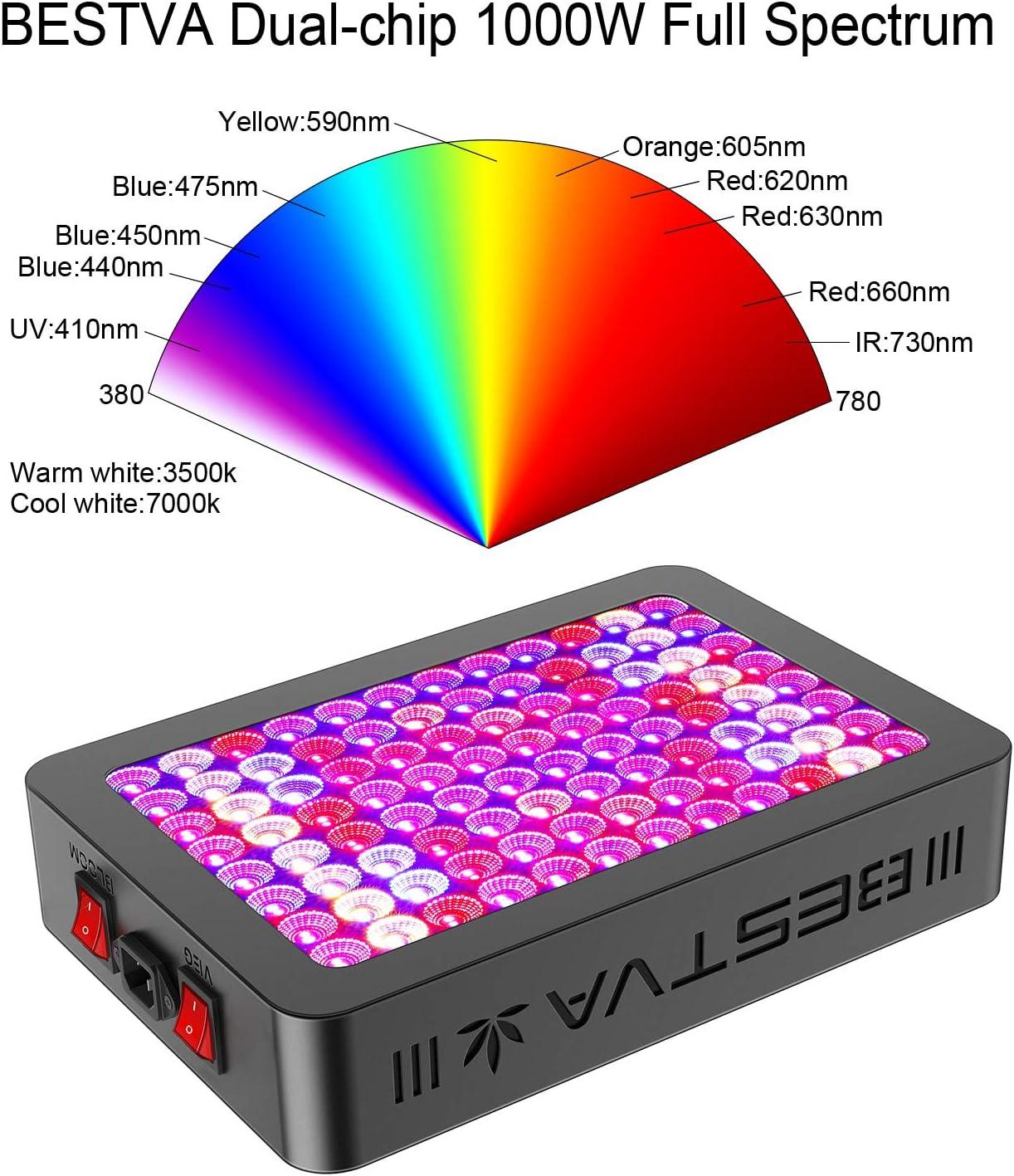 BestVA 1000w full Color Spectrum