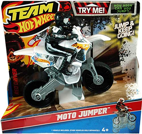 Hot Wheels Mattel W5437 Team Moto con Motorista
