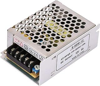 Strömförsörjningsreglerad omkopplare, 5A 12V AC/DC spänningsomvandlare Universalreglerad brytare, för LED