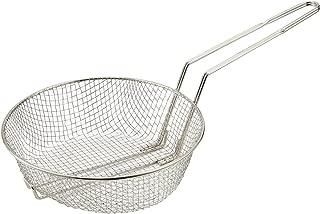 Winco Culinary Basket, 8-Inch Diameter, Medium Mesh