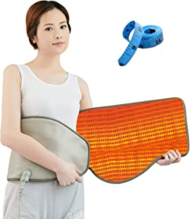 UDINEK Electric Slimming Belt with Hot Compress & Vibrating Massage Function Health Care Tools Heating Massager Fitness De...