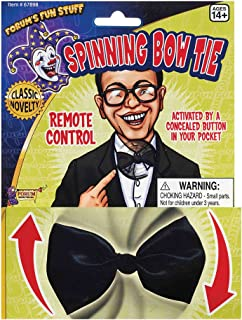 Forum Novelties Black Remote Controlled Spinning Bow Tie