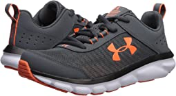 0943b4303e4 Pitch Gray White Orange Glitch. 1. Under Armour Kids