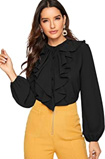 Best blouses with ruffles Reviews