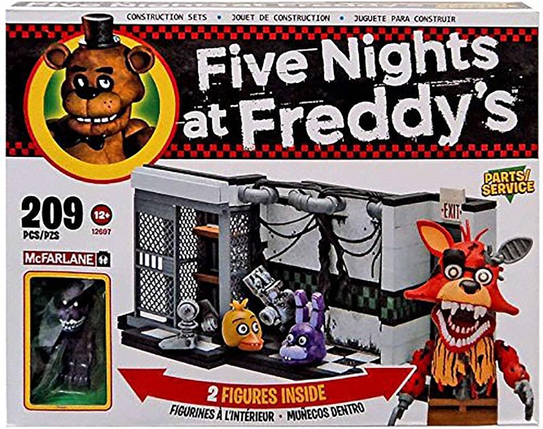 Five Nights at Freddy's Medium Construction Set Parts & Service