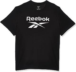 تي شيرت رجالي ايدينتيتي مطبوع عليه شعار ريبوك كبير من ريبوك