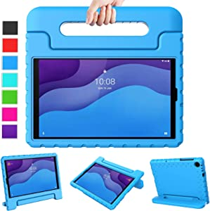 LTROP Lenovo Tab M10 HD Case, Kids Case for Lenovo Tab M10 HD 2nd Gen/Smart Tab M10 HD 2nd Gen (TB-X306F/TB-X306X),Shockproof Convertible Handle Stand Case for Lenovo M10 HD 2nd Gen 10.1