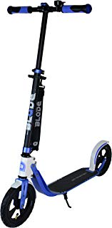 Blade Adult Scooter 230mm Big Inflatable Wheels Foldable Adjustable Height City Campus Commuter Kick Scooter Support 265 lbs Outdoor Sports Scooter