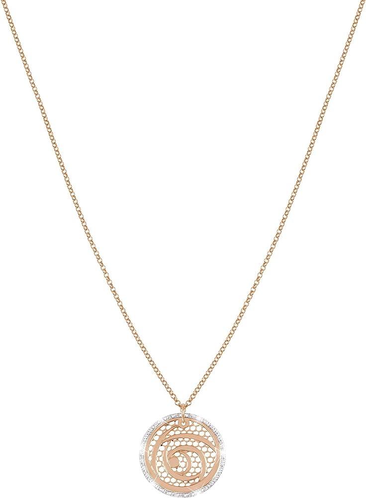 Stroili collana  girocollo per donna in bronzo bicolore - muse 1651153