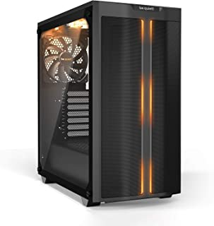 Be Quiet Pure Base 500DX Black, Mid Tower ATX case, ARGB, 3 pre-Installed Pure Wings 2, Tempered Glass Window