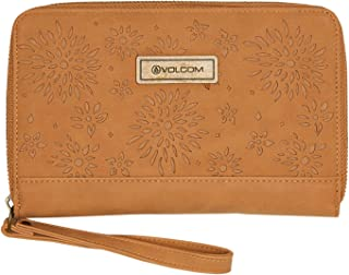 Volcom Women's Vacations Wallet Pu Brown