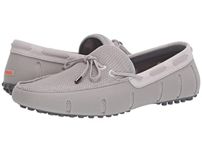 SWIMS Braided Lace Loafer Driver (Alloy/Gray) Men