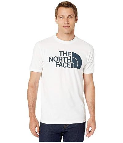 The North Face Short Sleeve Half Dome T-Shirt (TNF White/TNF Black) Men