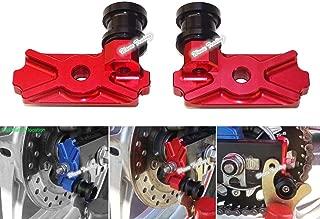 waase Motorcycle CNC Aluminium Swingarm Swing Arm Spool Slider Adapters / Mounts For Honda CBR250R 2011 2012 2013 / CB300F CBR300R 2014 2015 2016 (Red)