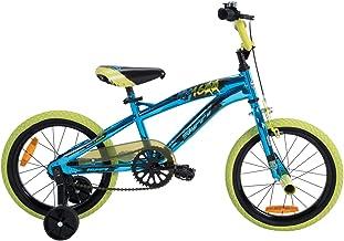 Huffy Children's Bike, Metaloid Blue/Acid Green