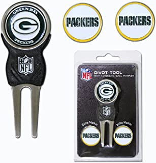 Green Bay Packers NFL Divot Tool & Ball Marker Set