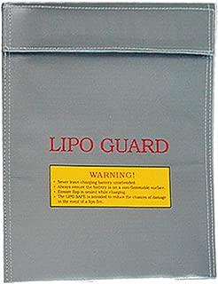 LiPo Bolsa de Seguridad ignífuga, Carga de batería, Bolsa de Almacenamiento, Resistente explosión para baterías RC