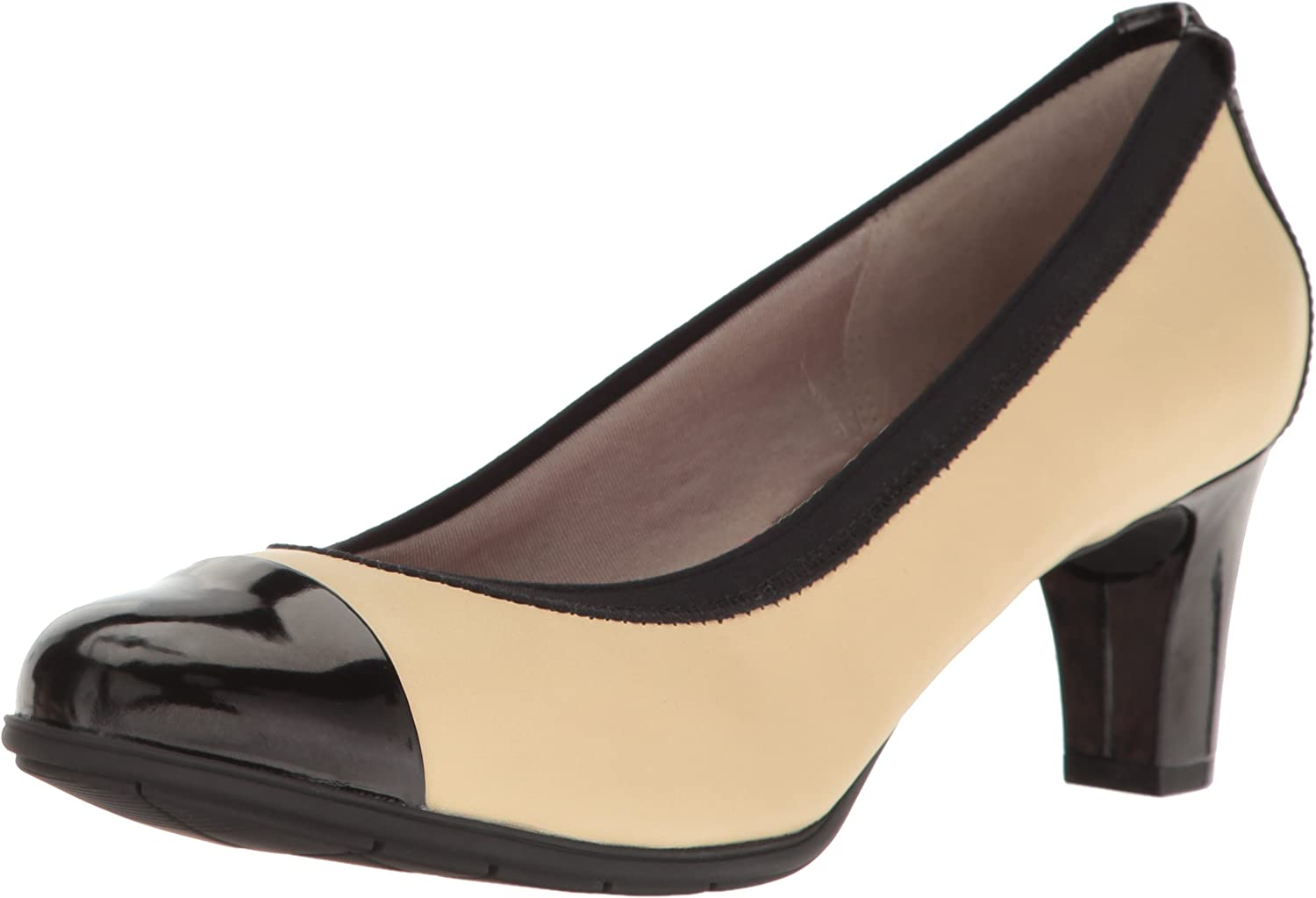 Rockport Womens Melora Gore Captoe Dress Pump