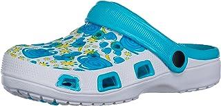 BRANDSSELLER Zuecos de Mujer | Zapato de jardín | Zapatillas | Zapatos de baño | Zapatillas Sandalias | Patrón Floral