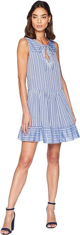 Ruffled Hem A-Line Dress