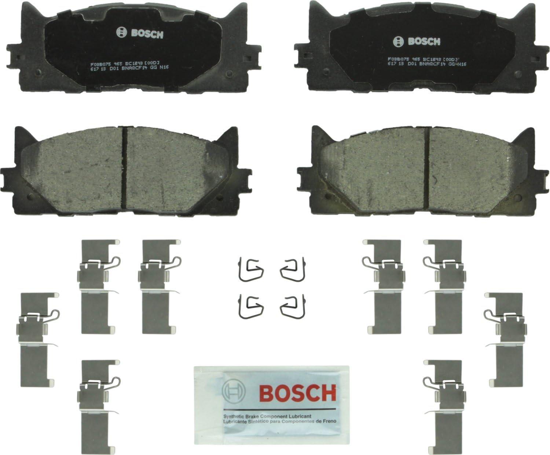 Over item handling ☆ Soldering Bosch BC1293 QuietCast Premium Ceramic Disc L Pad Brake Set For: