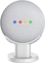Cozycase Soporte para Google Home Mini, Nest Mini - Soporte de Escritorio para Montaje en Soporte, Mejora la Visibilidad y Apariencia del Sonido, Estuche de Seguridad Compacto en cocinas(Blanco)
