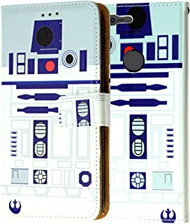 Pixel XL Wallet Case, DURARMOR Star Wars R2D2 Astromech Droid Robot PU Leather Folio Wallet Case ID Credit Card Cash Slots Flip Stand Cover Case for Google Pixel XL, R2D2