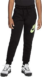 Nike Club Fleece - Pantalón de niño, color negro, cód. CJ7863-014