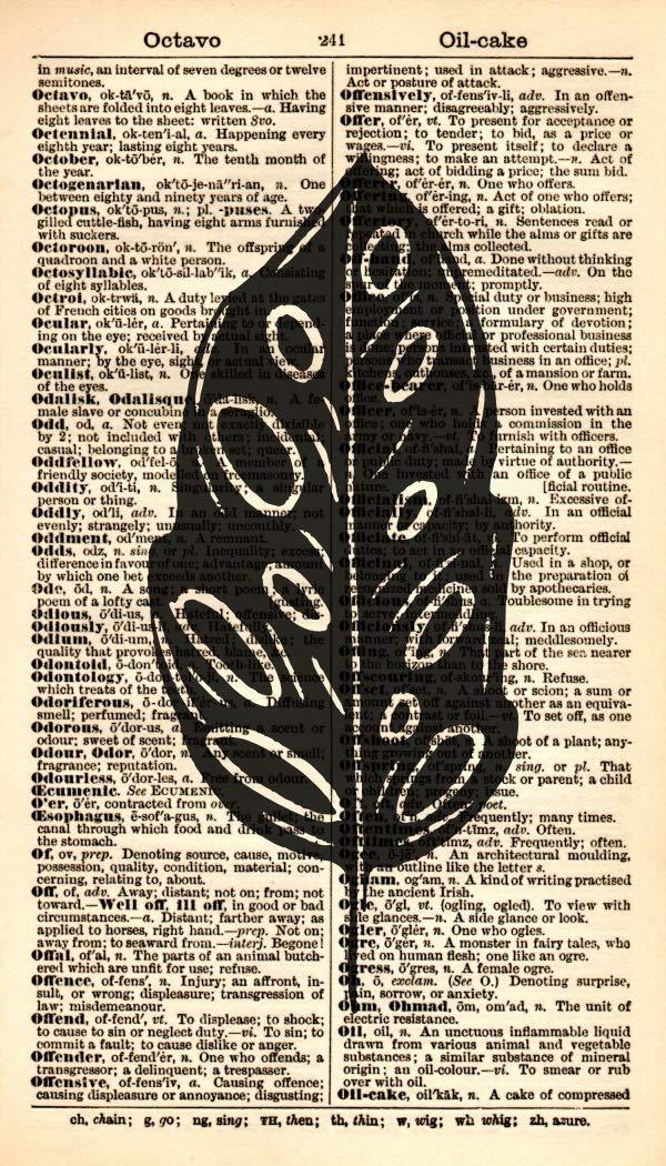 Leaf Art Print - Black Super popular specialty store online shopping – Botani Silhouette