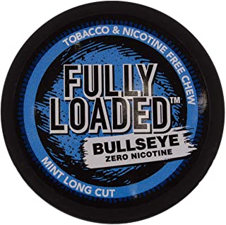 Fully Loaded Chew Tobacco and Nicotine Free Mint Flavored Chew