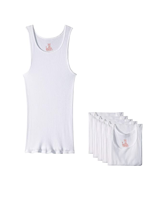 Pack Core Cotton Tank White