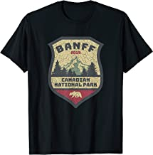 Vintage Retro Canadian Banff National Park Shirts Souvenirs T-Shirt