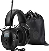 PROHEAR 033 Bluetooth FM/AM Radio Hearing Protection Headphones (Upgraded), 25dB NRR Safety Noise Reduction Ear Muffs with...