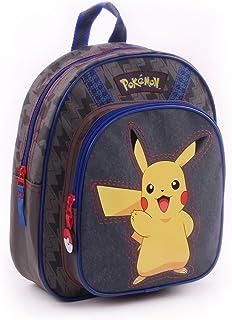 Vadobag Pokemon Pika Pika - Sac A Dos Gris 31Cm 1 Poche Soufflet Children's Backpack, 31 cm, Grey (Gris)