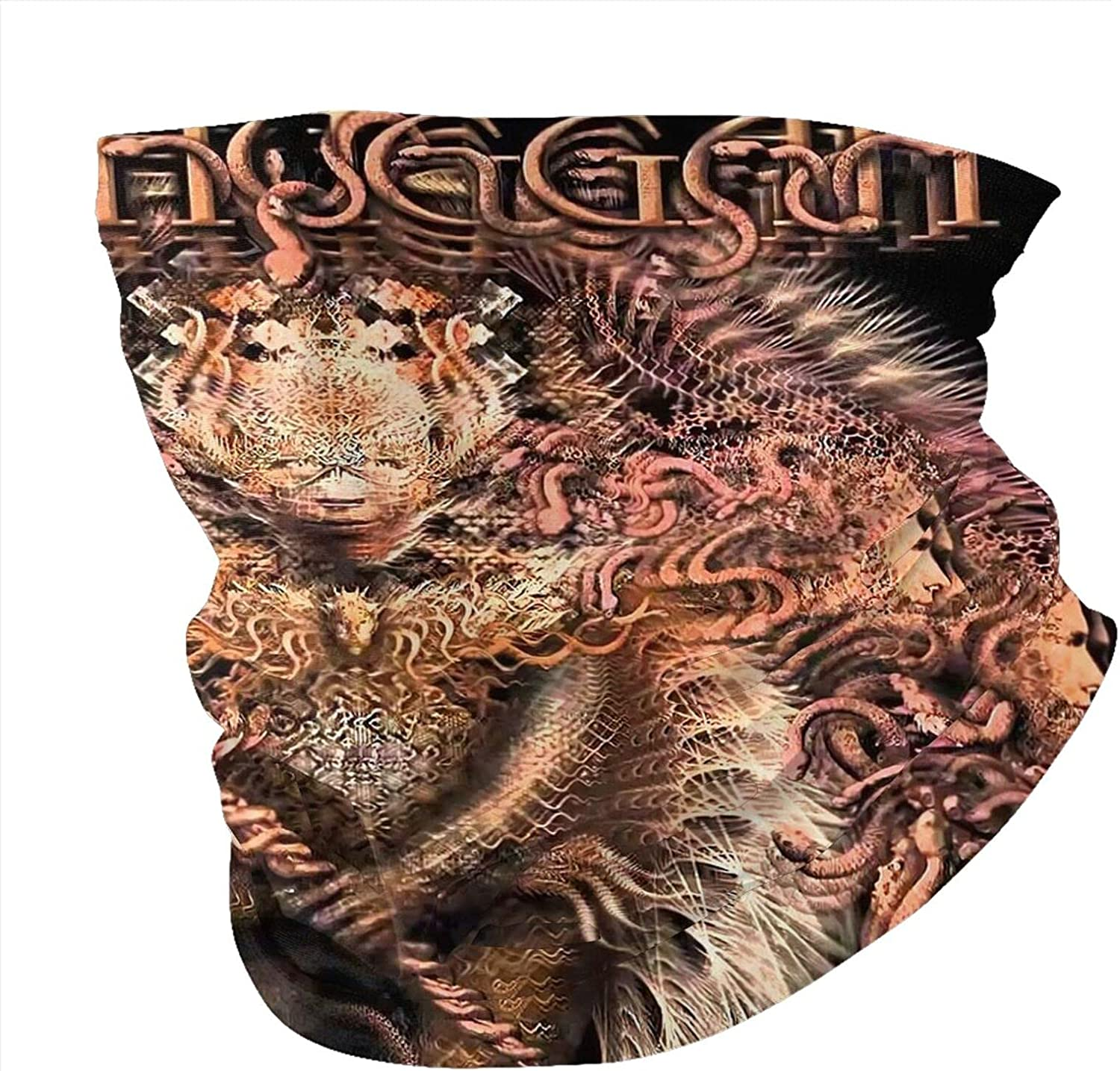 Meshuggah Unisex Neck Gaiter Face Mask Man Womans Multifunction Balaclava Face Cover,Cycling Mask,Sport Neck Gaiter,Hiking Scarf,Fishing Mask, Motorcycle Face Cover