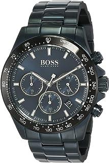 Hugo Boss Mens Quartz Wrist Watch, Chronograph and Stainless Steel- 1513758