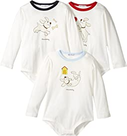 Dolce & Gabbana Kids - Mimmo 3-Pack One-Piece (Infant)