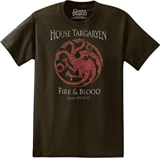 Game of Thrones - House Targaryen Fire & Blood - T-Shirt