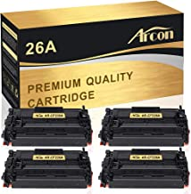 Arcon Compatible Toner Cartridge Replacement for HP 26A CF226A HP LaserJet Pro M402n M402dn M402dw M402d HP LaserJet Pro MFP M426dw M426fdw M426fdn HP 26A CF226A 26X CF226X M402n M426fdw Printer-4Pack