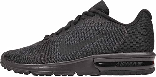 NIKE Wohommes Air Max Sequent 2 Running chaussures noir Taille 7 M US