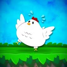 Tiny Chicken: Bouncy Egg Dash - juegos divertidos súper simples populares gratis (2018) sin wifi