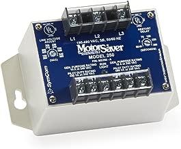 Symcom MotorSaver 3-Phase Voltage Monitor, Model 250A, 190-480V, DPDT Contacts